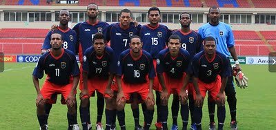 NAtional Team in Rommel Stadium, Panama