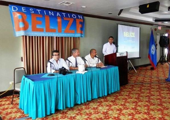 destination Belize magazine launch 2012