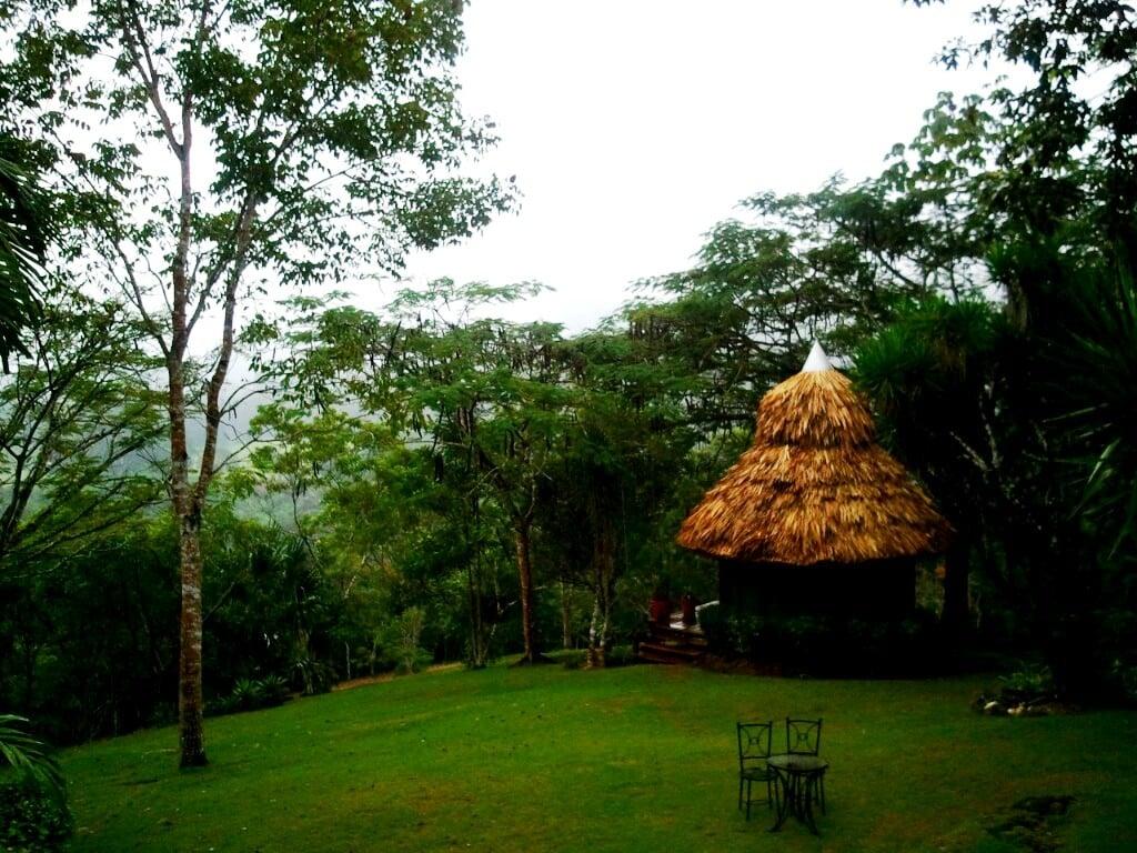 serene spa at chaacreek belize