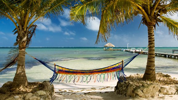beach vacation in Belize