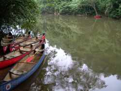 Canoeing on Macal River
