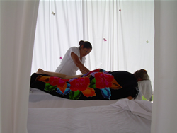 Chaa Creek Spa Massage