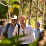 Prince Harry visits Chaa Creek in Belize