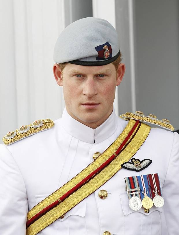Prince Harry in Belize