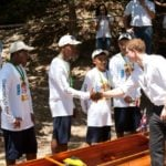 Diamonds on the Water – Prince Harry's Royal Racing Canoe