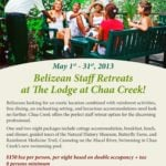 Belizean Staff Retreats at The Lodge at Chaa Creek