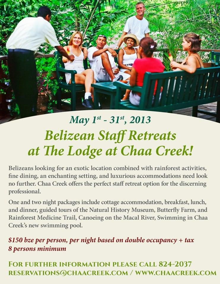 belize staff retreats