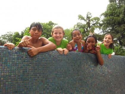Swim time in the pool!