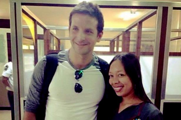 Bradley Cooper in Belize