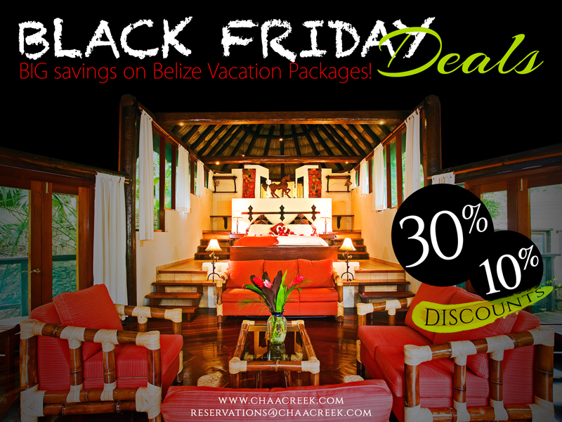 ChaaCreek Belize Black Friday Deals
