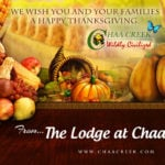 Happy Thanksgiving from all of us at Chaa Creek