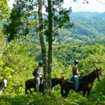 Horseb-back-riding-Chaa-Creek-Nature-Reserve