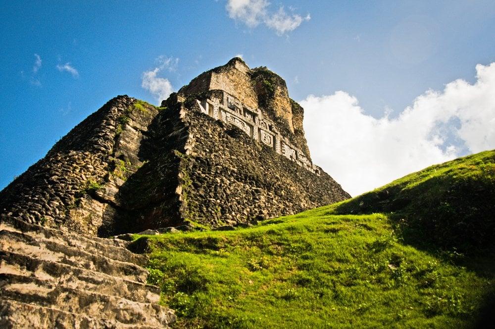 The Magic of Xunantunich Maya City in western Belize