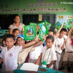 Belize Butterflies on the Road: Chaa Creek visits school