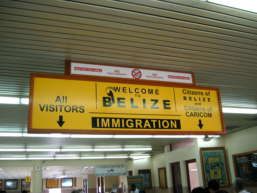Belize-English-Speaking-Country-Airport