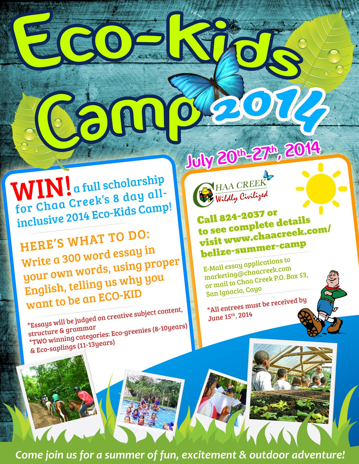 Belize-Eco-Kids-Summer-Camp-2014