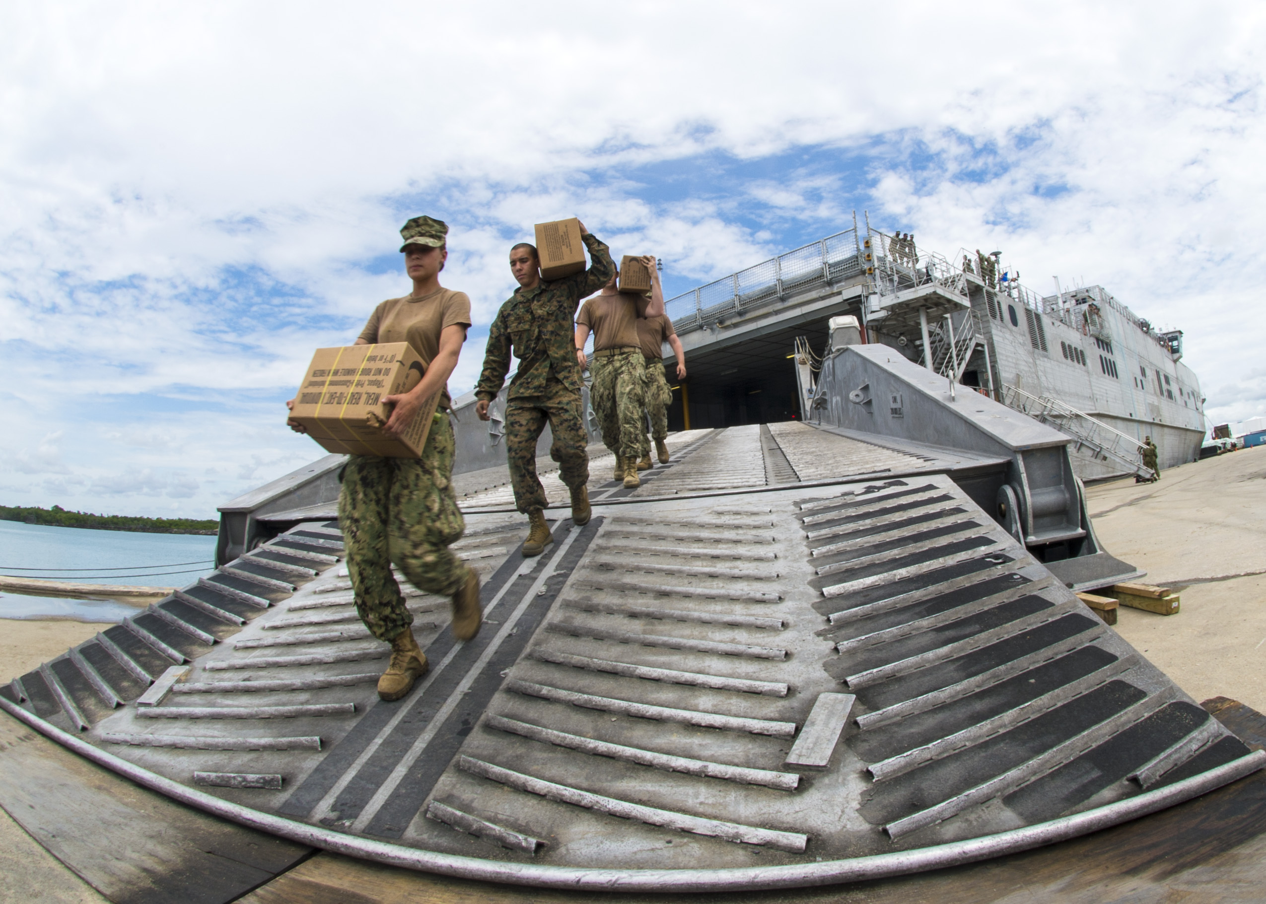 Belize hosts US Navy Ship: Anchors Aweigh!