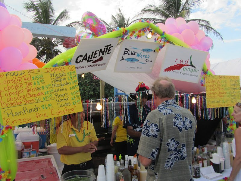 Lobster Fest in Ambergris Caye is always a good time!