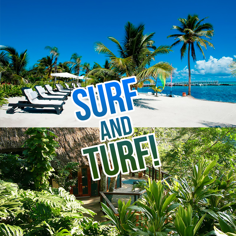 Enjoy a Belize Surf and Turf Vacation in the Central American Country!