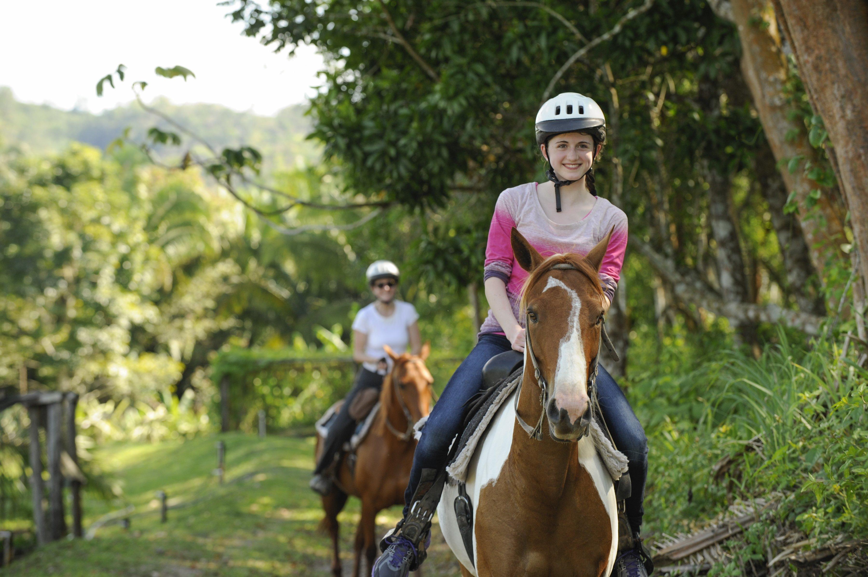 Chaa Creek - Horseback-Riding