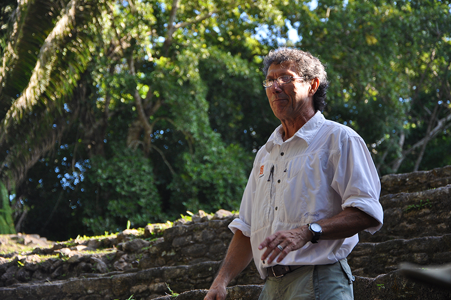 Dr Jaime Awe has served the Belize Archeology Institute for many years, thank you!