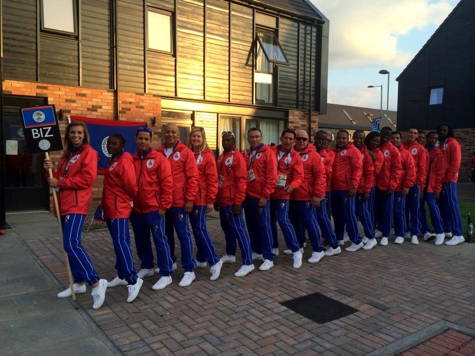 Team-Belize-Commonwealth Games