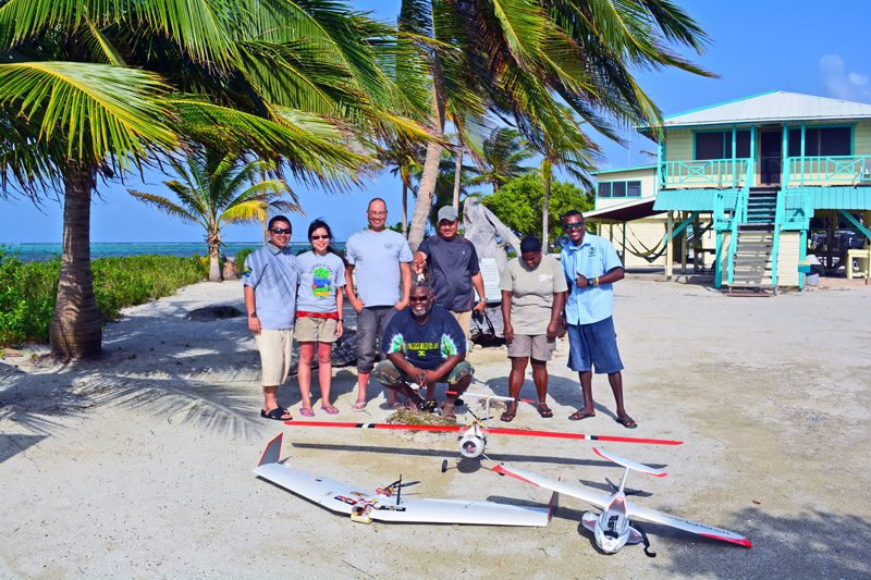 Supporting enforcement of marine protected areas in Glover's Reef, Belize.