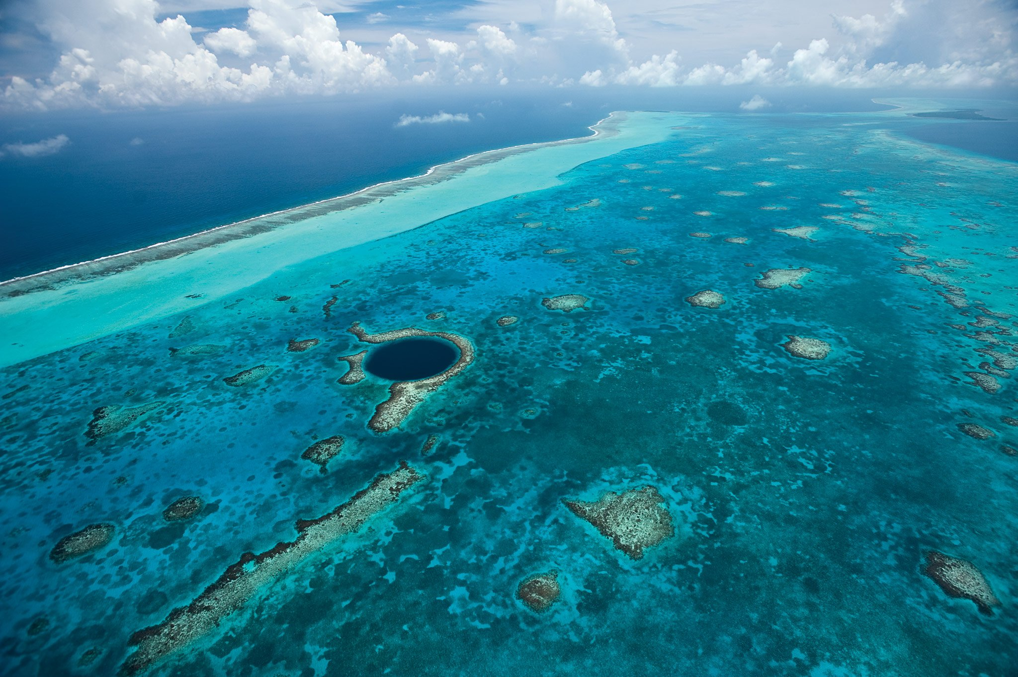 Belize Surf and Turf vacations gives you the chance to experience the Great Barrier Reef & Blue Hole!