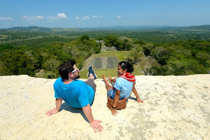 """Belize Maya Ruin """"El Castillo"""" at Xunantunich!"""