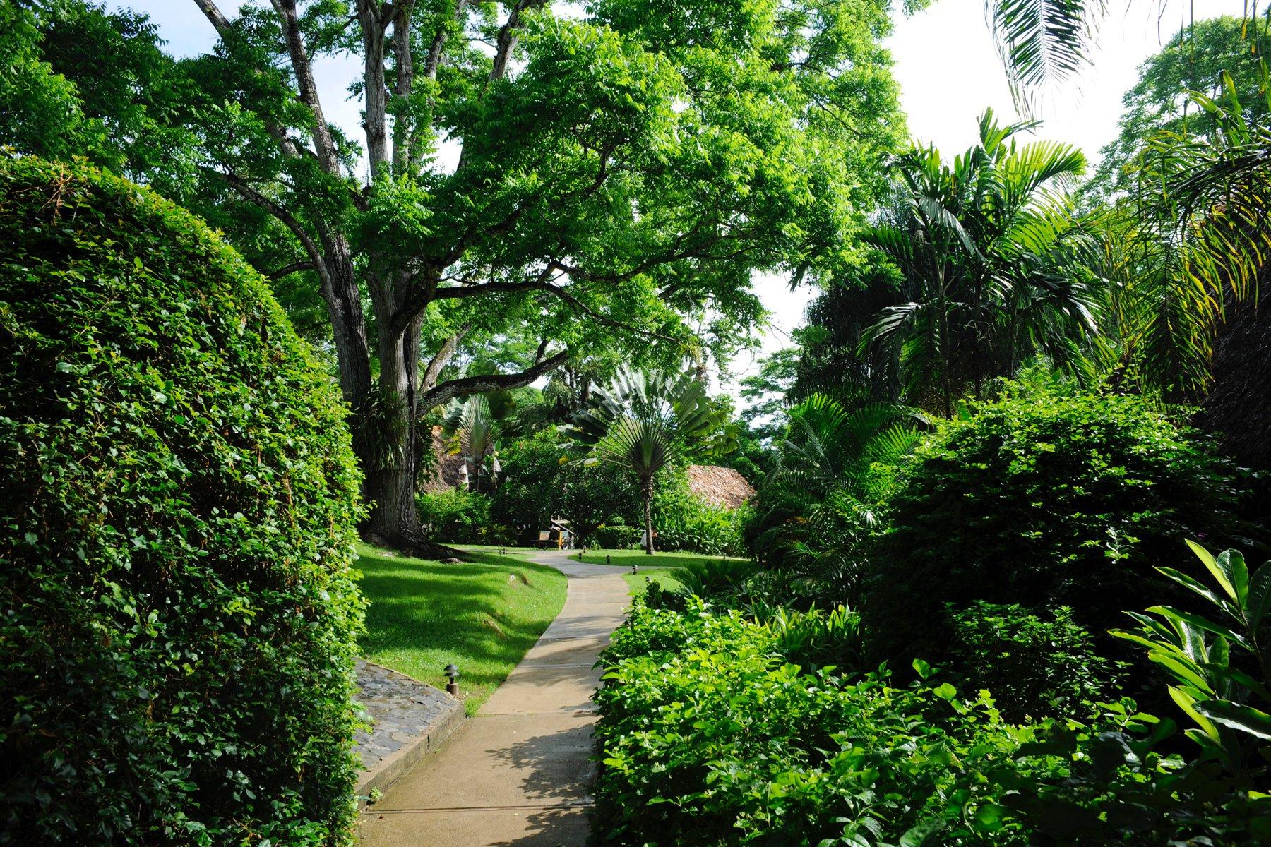 Chaa- Creek-Garden
