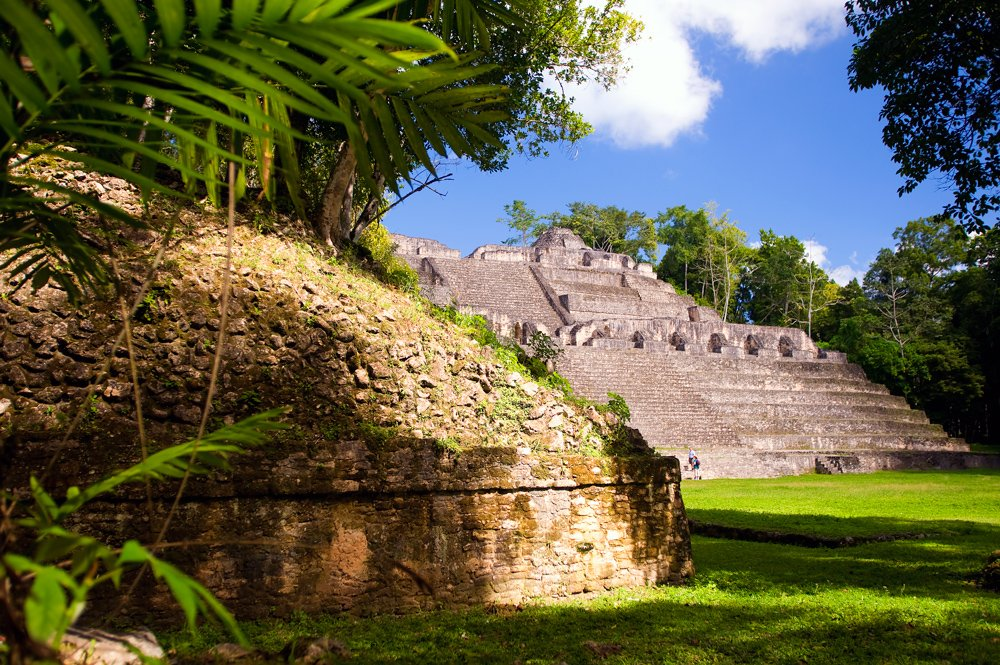 Caracol Maya City in Belize!