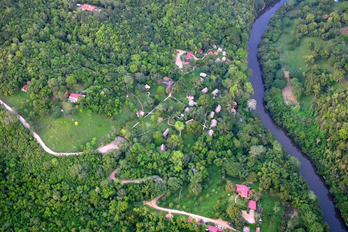 chaa-creek-aerial-view