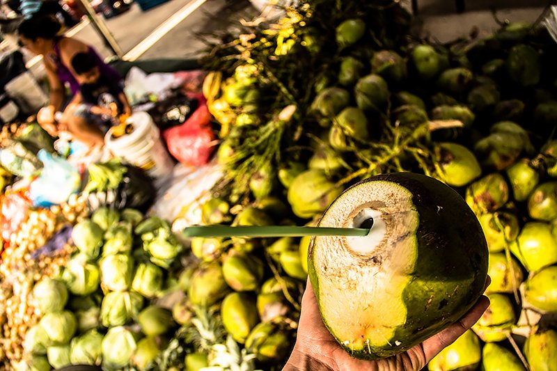Fresh Coconut Water to quench your thirst!
