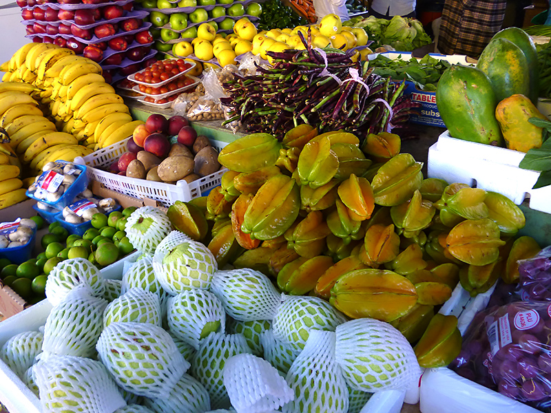 Exotic Fruits & Organic Produce at San Ignacio's Market Day