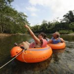 Tubing down the Macal River: Belize Floating Paradise