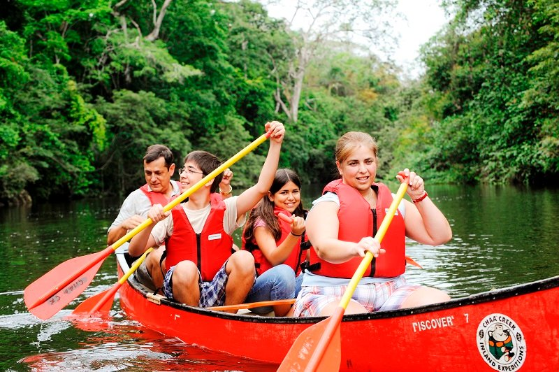belize canoeing tours