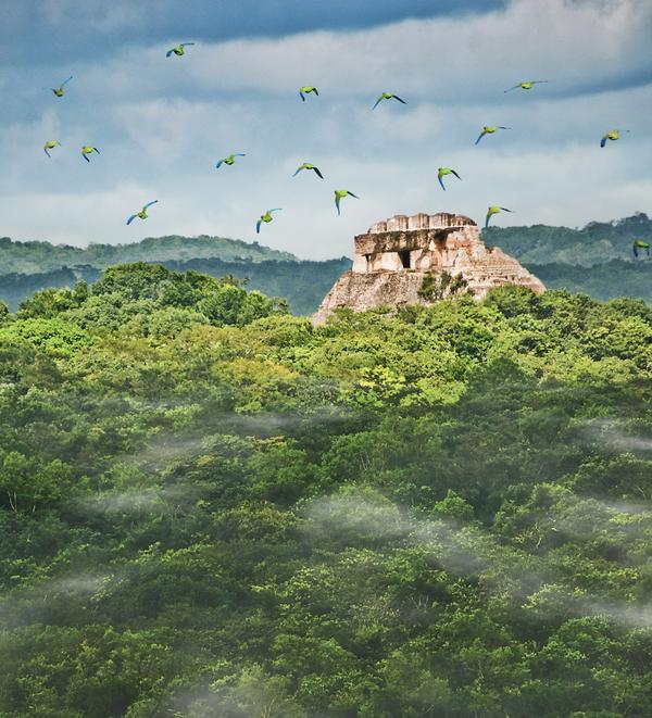 The-Maya-site-of-Xunantunich