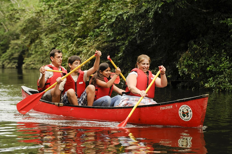 Belize-Family-Canoeing