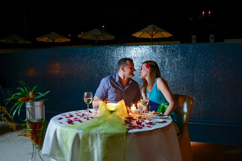 Belize Romantic Poolside Dinner at The Lodge at Chaa Creek
