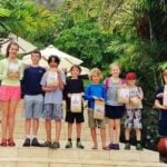 Belize 2015 Easter Egg Hunt – Chaa Creek does it again!