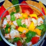Belize Recipes: Mango Shrimp Ceviche!