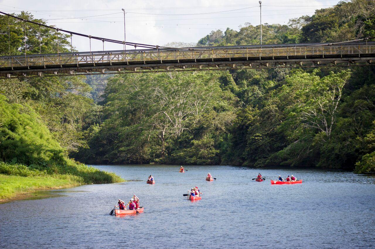 Canoeing-San-Ignacio-Town