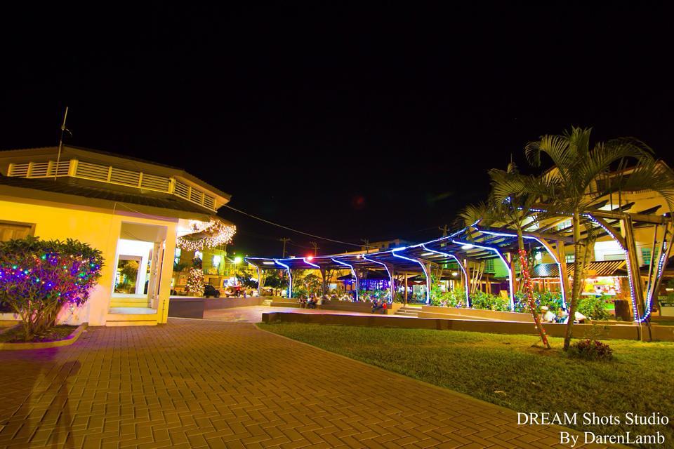 san ignacio belize nightlife welcome center shot