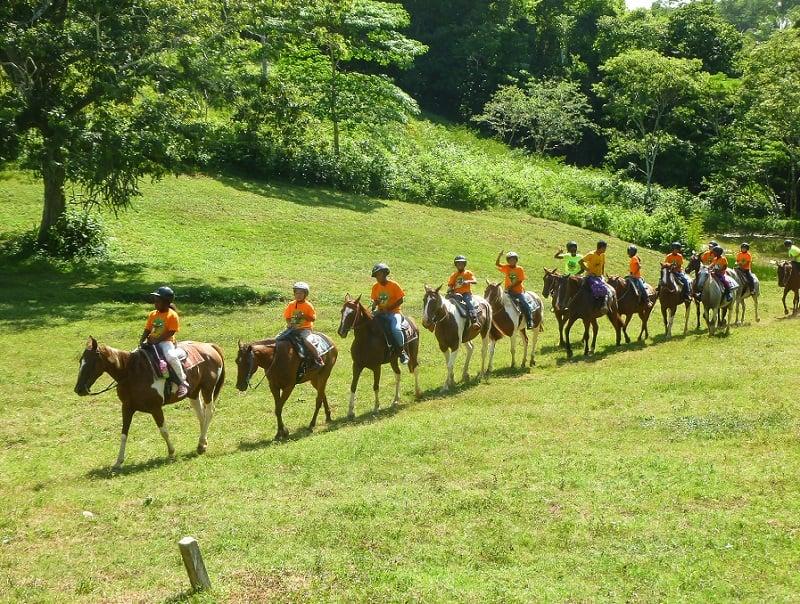 EcoKids2015-Horseback-riding