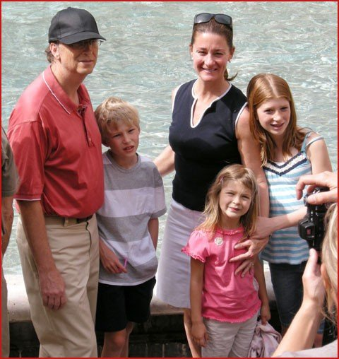 Bill Gates and family2