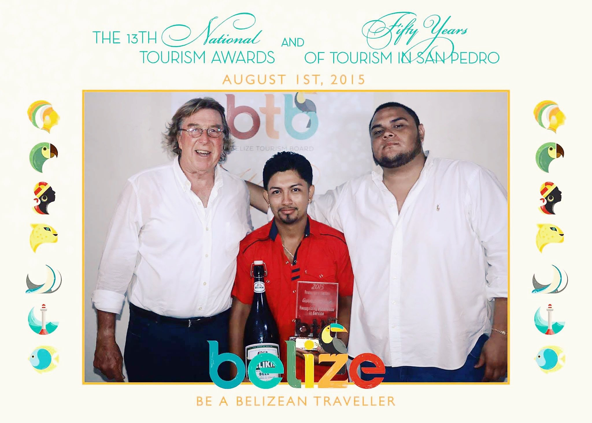 Guava Limb Cafe was awarded as Belize's Restaurant of the Year 2015 by BTB