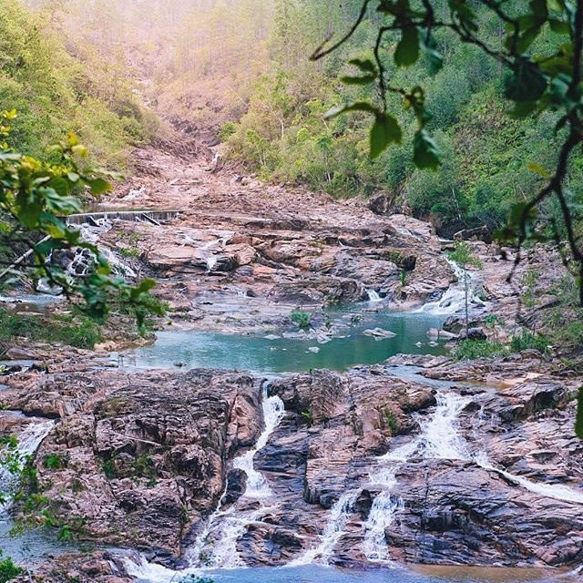 pictures-of-belize-mountain-pine-ridge-five-sisters-waterfall