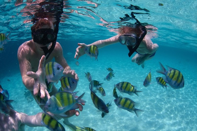 belize-kids-snorkeling