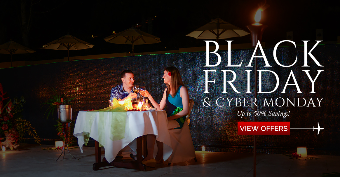 Black friday through cyber monday belize vacation deal for Black friday vacation deals all inclusive