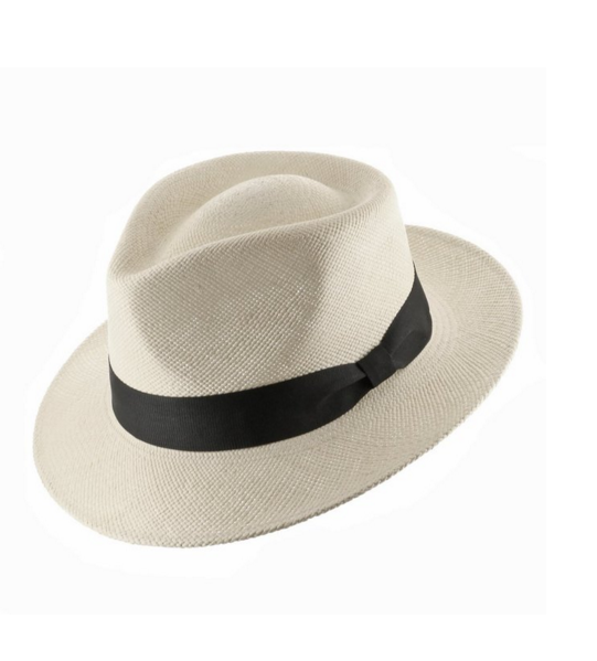 Genuine HAVANA Retro Panama Straw Hat